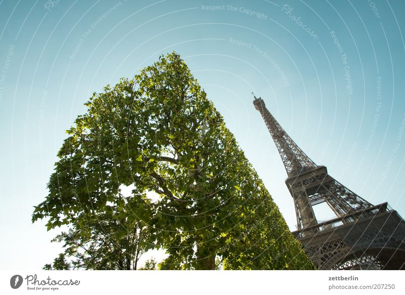 More Eiffel Towers for everyone! Paris France Metal Iron Steel Steel carrier Steel construction Construction site Architecture Landmark Vacation & Travel