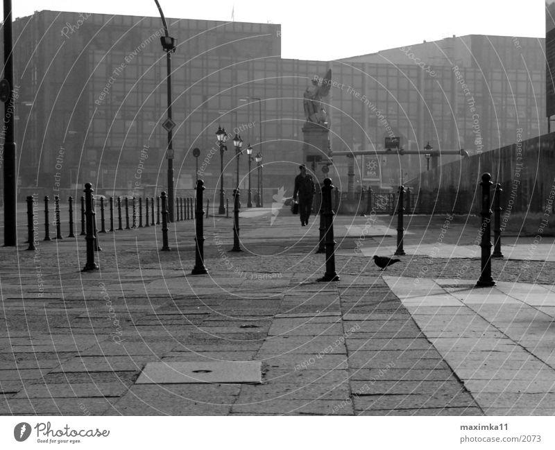 Berlin, Palace of the Republic, 8:49 AM Empty Street