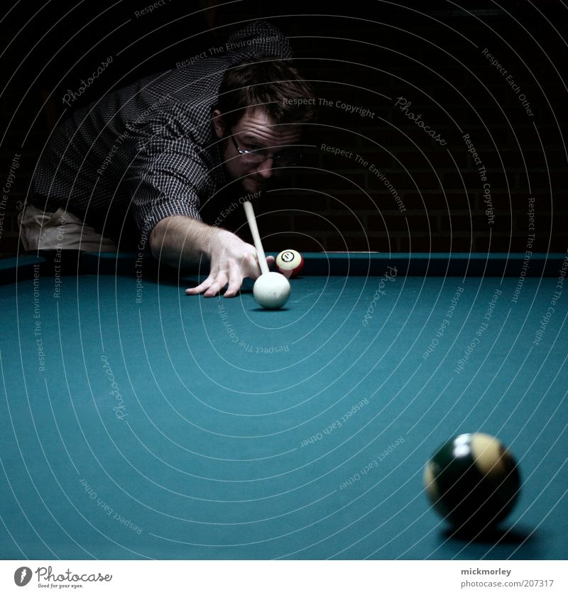 Pool is Cool Lifestyle Elegant Style Leisure and hobbies Entertainment Success Loser Masculine Young man Youth (Young adults) 1 Human being 18 - 30 years Adults