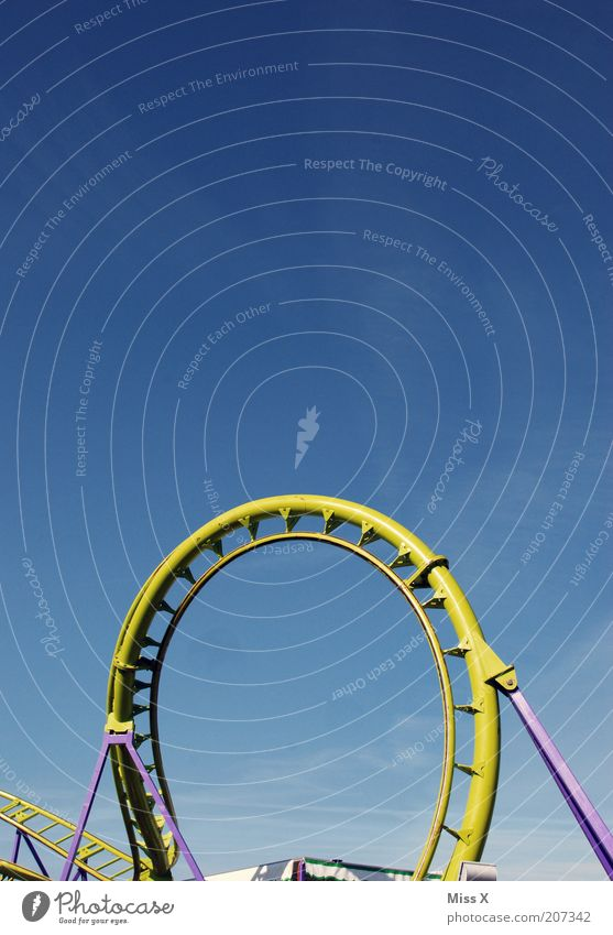 loop Vacation & Travel Summer vacation Event Feasts & Celebrations Fairs & Carnivals Beautiful weather Round Leisure and hobbies Roller coaster Amusement Park