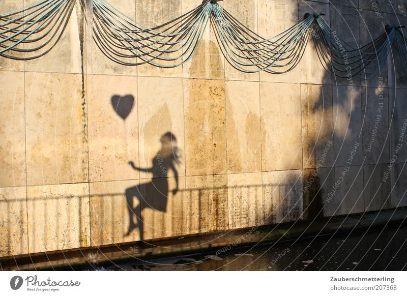Woman Beautiful Young woman Wall (building) Life Emotions Feminine Love Wall (barrier) Exceptional Contentment Sit Free Esthetic Happiness To enjoy