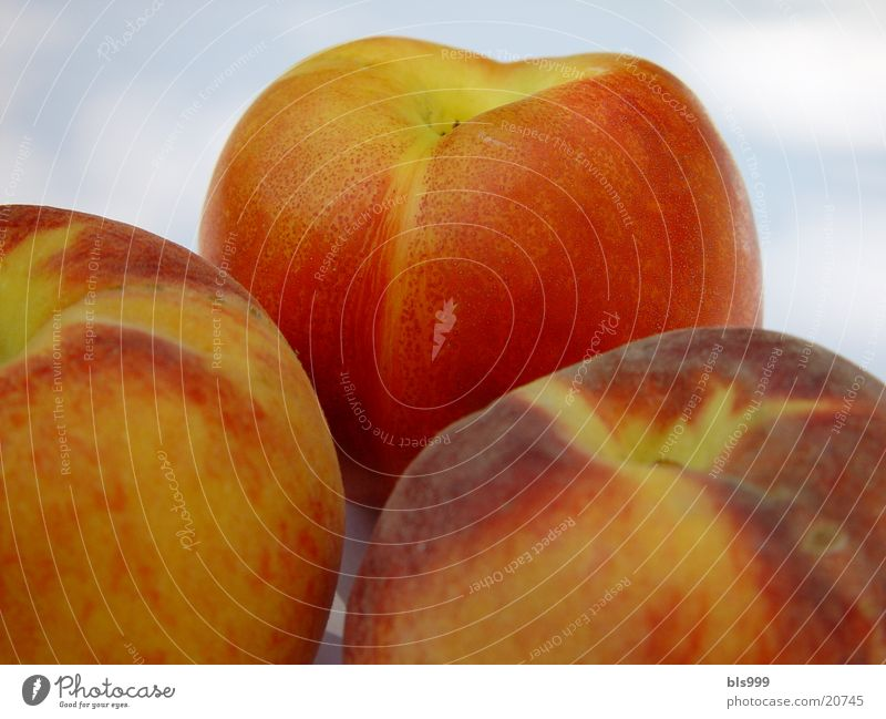 Healthy Fruit Vitamin Peach Nectarine