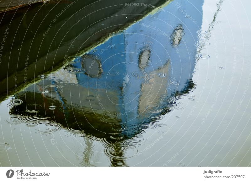 Sky Water Cold Sadness Rain Drops of water Climate Wet Harbour Navigation Surface of water Sailboat Bad weather Mirror image Fishing boat Porthole