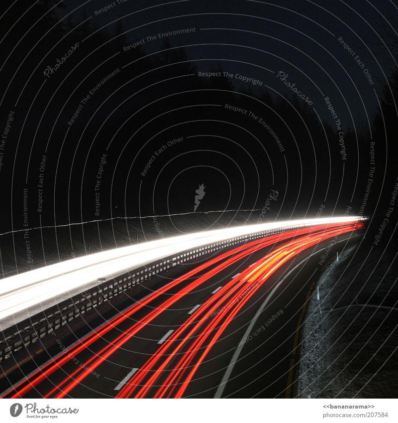 Street Lighting Road traffic Transport Tracks Highway Illuminate Stress Curve Motoring Floodlight Passenger traffic Visual spectacle Haste