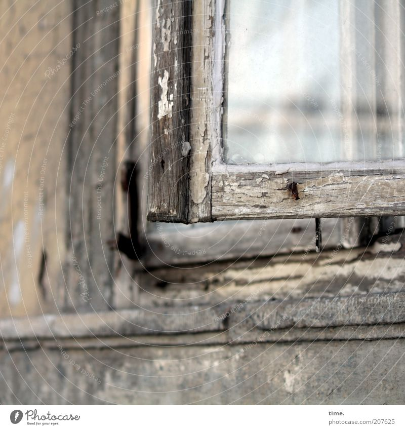 Old House (Residential Structure) Wall (building) Window Wood Wall (barrier) Glass Open Broken Derelict Decline Varnish Reflection Section of image Old building Flake off