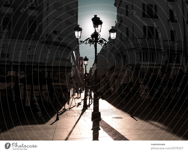 El sol que viene Small Town Places Hot Bright Historic Blue Brown Loneliness Colour photo Exterior shot Deserted Copy Space left Copy Space right Day Light