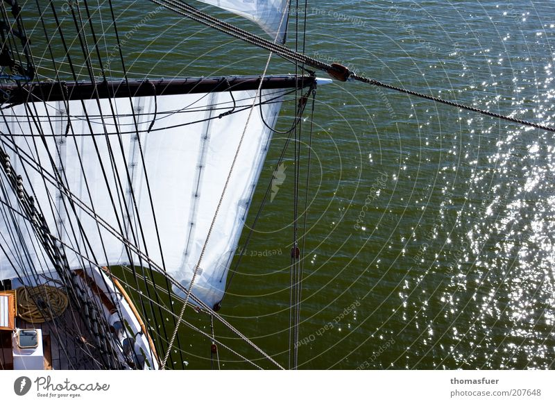 Water Beautiful Ocean Summer Vacation & Travel Freedom Waves Esthetic Adventure Longing Discover Sailing Navigation Baltic Sea Beautiful weather Wanderlust