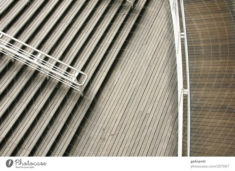 staircases Stairs Banister Tourist Attraction Symmetry Line Curve Graphic Subdued colour Exterior shot Deserted Day Contrast Bird's-eye view