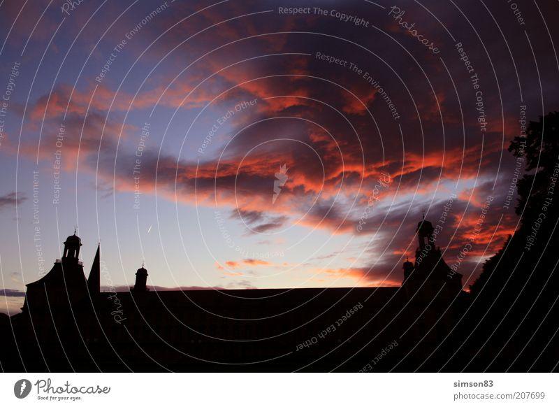 Sky Clouds Building Air Castle Beautiful weather Dusk Sunrise Sunset