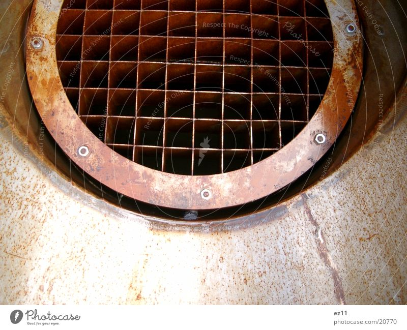 Watersplash Grid Steel Grating Water pipe Engines Industry Rust