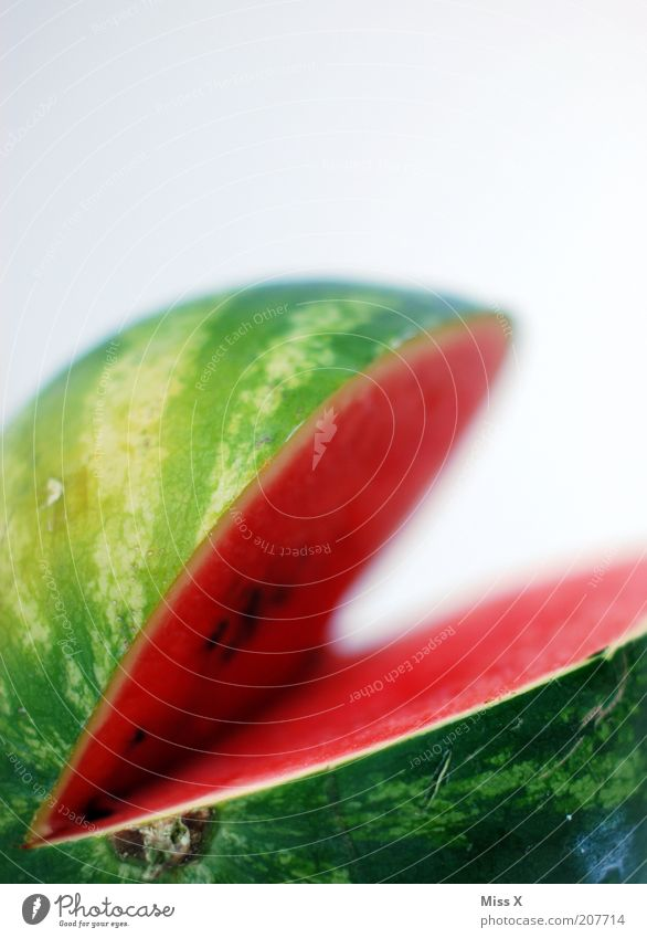 Green Red Colour Healthy Fruit Food Large Fresh Nutrition Sweet Pure Part Division Appetite Delicious Organic produce