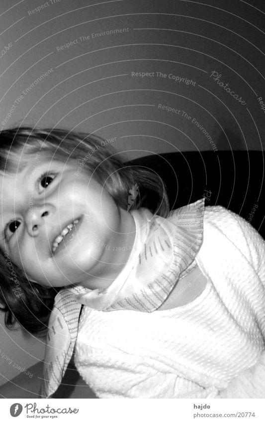 peekaboo Girl Child Black & white photo