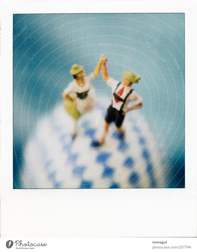 Joy Life Emotions Happy Couple Together Dance Happiness Dance event Feasts & Celebrations Polaroid Romance Culture Kitsch Touch Germany