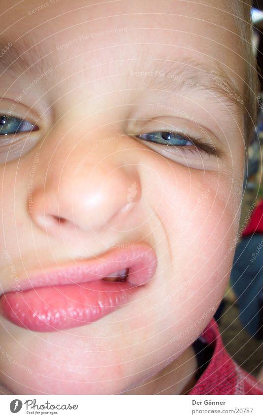 sass Child Close-up Boy (child) Lips Mouth