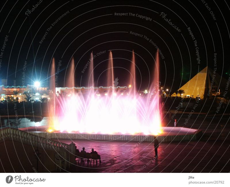 nocturnal fountains Water fountain Night Shows Contentment water features