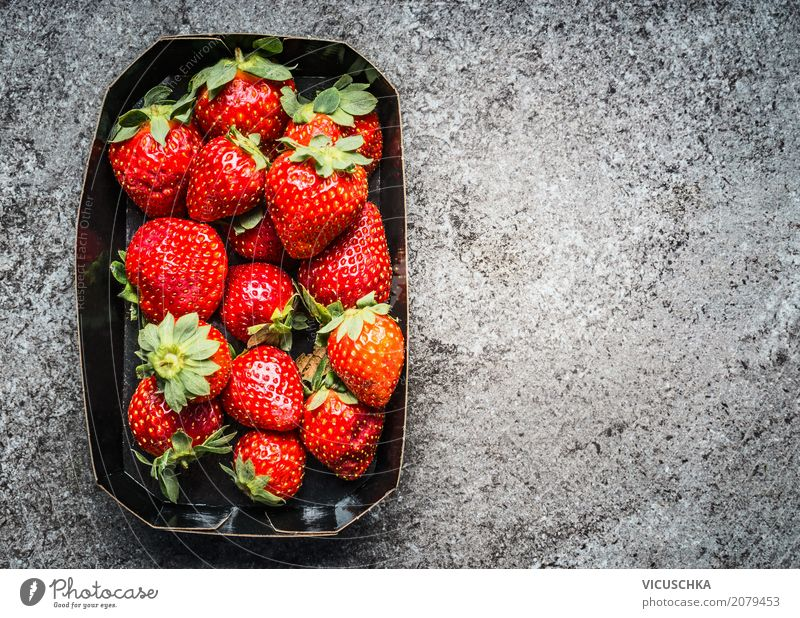 strawberries Food Fruit Dessert Nutrition Organic produce Vegetarian diet Diet Style Design Healthy Eating Life Summer Nature Background picture