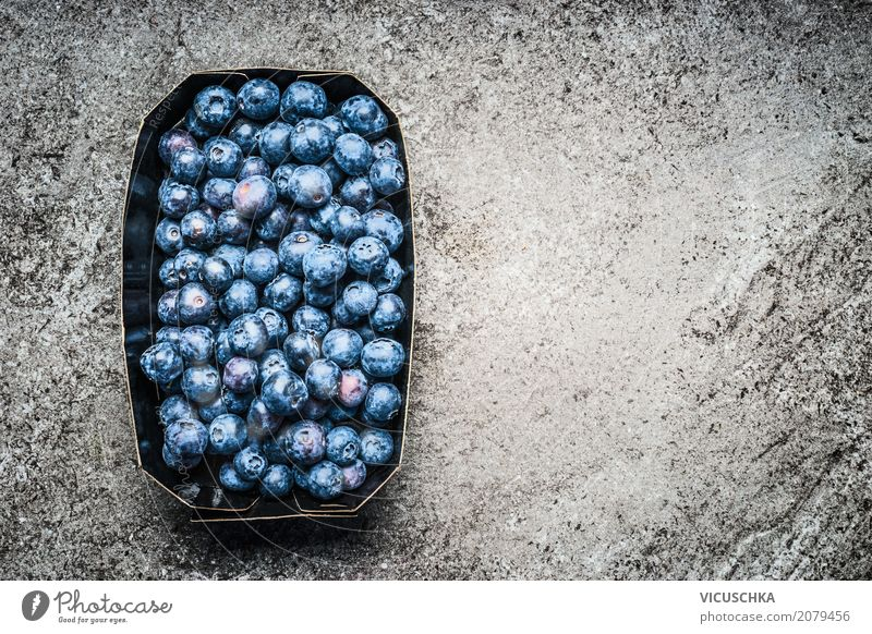 blueberries Food Fruit Nutrition Organic produce Vegetarian diet Diet Style Design Healthy Healthy Eating Life Summer Nature Background picture Blueberry