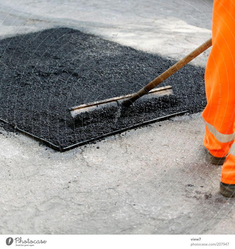 Square under construction Construction site Man Adults Legs Street Work and employment Build Make Authentic Arrangement Quality Tar Asphalt Tool Pavement