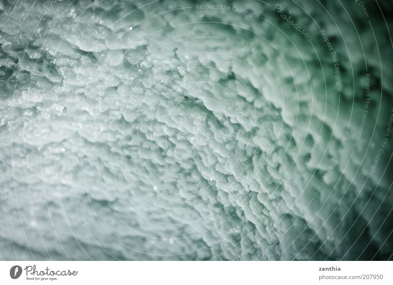 ice Ice Frost Glacier Cold Frozen Cave Interior shot Close-up Structures and shapes Deserted Copy Space left Copy Space right Copy Space top Copy Space bottom