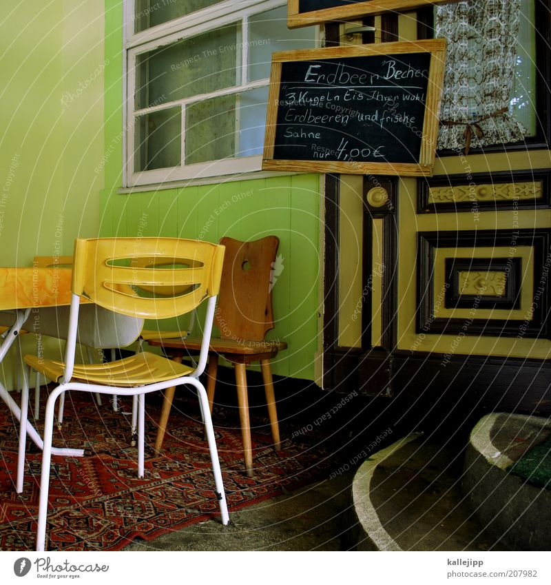 Old Summer Vacation & Travel Relaxation Style Window Happy Trip Table Lifestyle Retro Chair Leisure and hobbies Living or residing Interior design Restaurant
