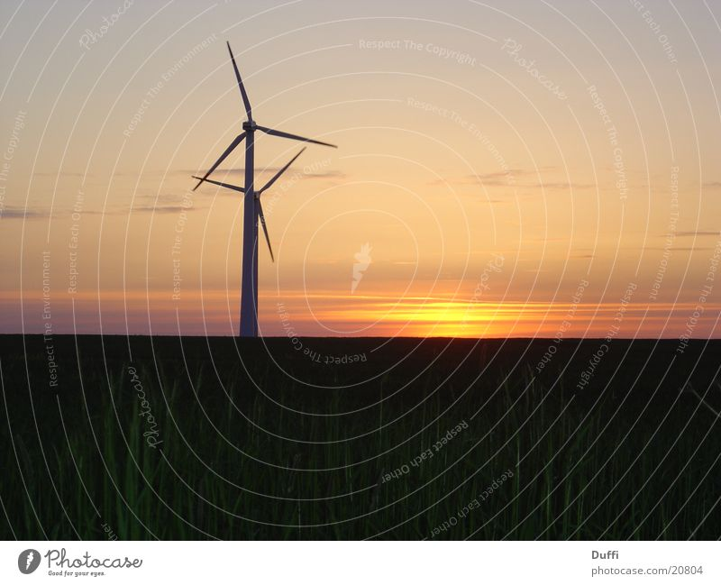 Dream Wind Romance Wind energy plant To enjoy