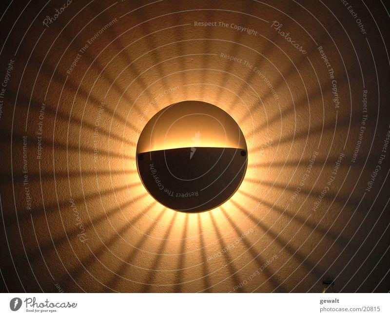 Sun Lamp Dark Lighting Circle Living or residing Sphere Electric bulb Glow