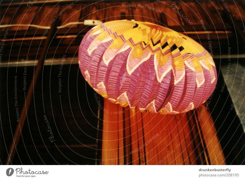 Summer Vacation & Travel Yellow Dark Window Wood Lamp Bright Brown Feasts & Celebrations Pink Facade Paper Illuminate Plastic Hut