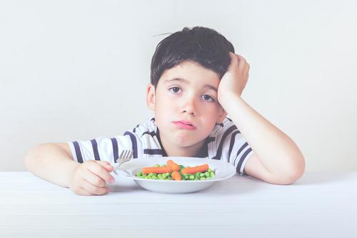 Sad child with a meal Human being Child Healthy Eating House (Residential Structure) Lifestyle Boy (child) Food Moody Masculine Nutrition Growth Infancy