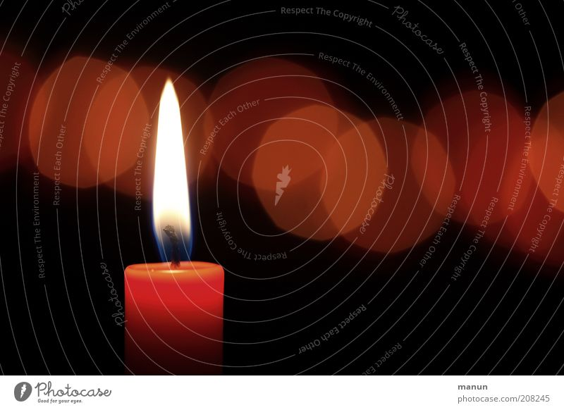 Red Life Dark Emotions Religion and faith Feasts & Celebrations Fire Hope Grief Candle Illuminate Peace Sign Expectation Candlelight