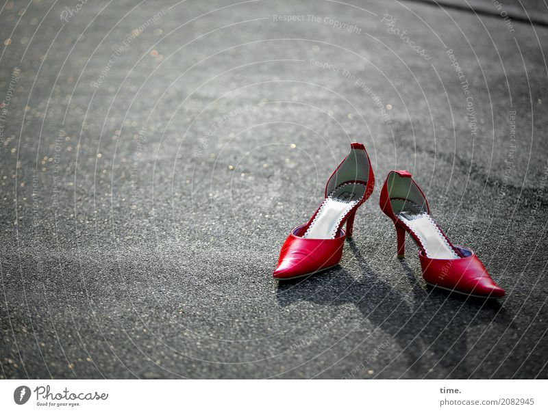 Eroticism Dark Street Lanes & trails Feminine Elegant Esthetic Stand Places Concrete High heels Dominant Competent