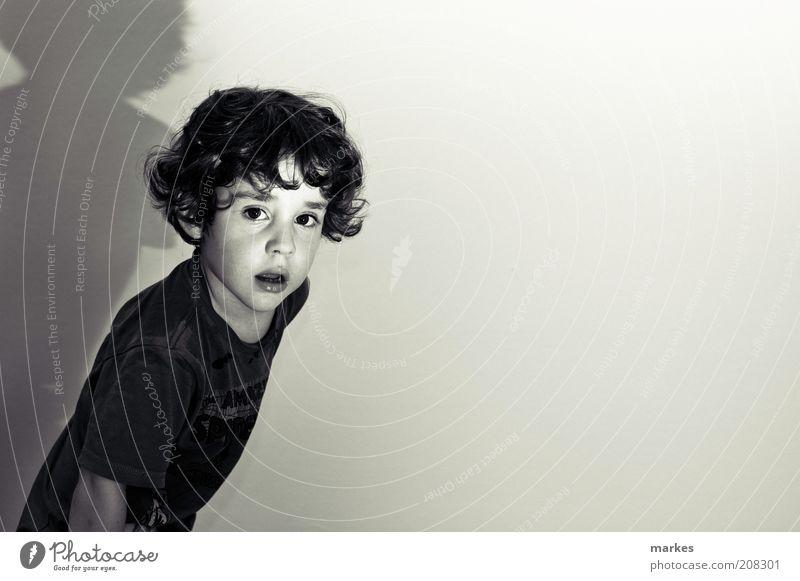 à la hitchcock Human being Child Dark Boy (child) Movement Moody Art Esthetic Retro Infancy Cinema Surrealism Portrait photograph Culture 3 - 8 years