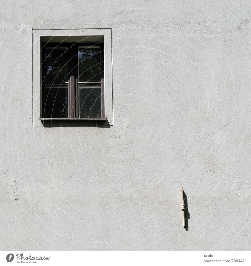 Old White Black Loneliness Dark Wall (building) Emotions Window Wood Gray Stone Wall (barrier) Metal Glass Concrete Facade