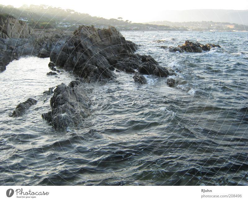 Nature Water Ocean Blue Summer Black Gray Landscape Contentment Brown Waves Coast Wet Rock Bay Beautiful weather