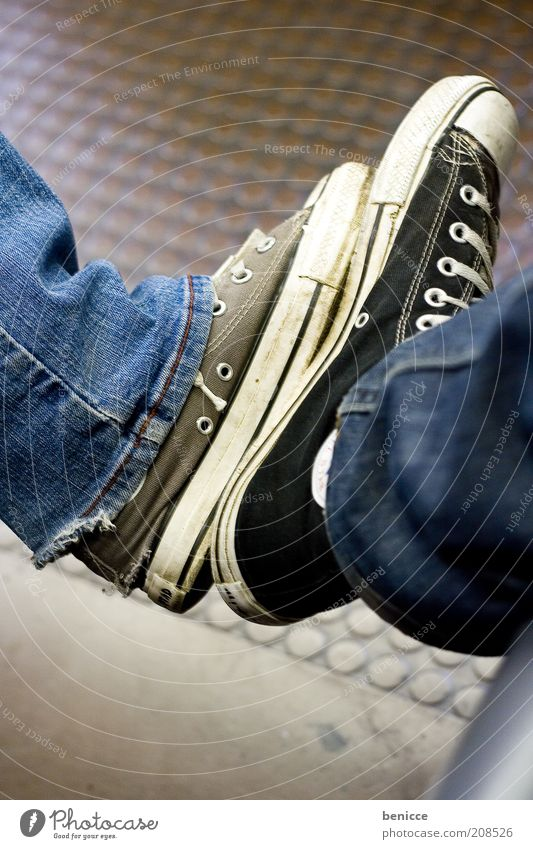 Chuck comparison Feet Footwear Legs Chucks converse Complain equalize Large Small Man Woman oversize Strong Alternative Jeans Denim Denim blue Black Brown