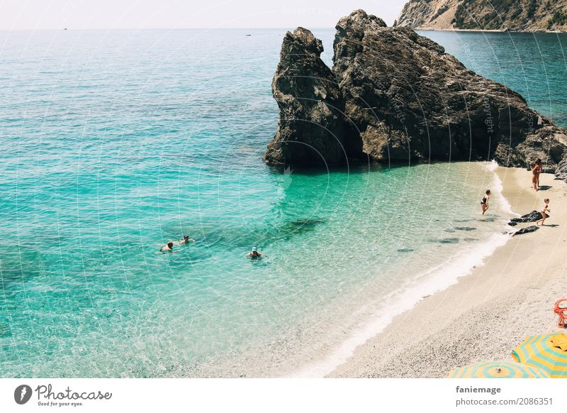 Nature Vacation & Travel Summer Beautiful Water Landscape Ocean Relaxation Calm Beach Travel photography Lifestyle Coast Tourism Swimming & Bathing Sand