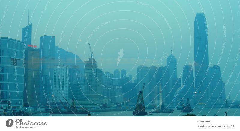 High-rise China Skyline Hongkong Asia Los Angeles