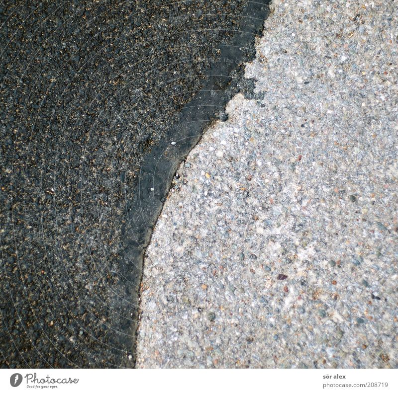 Old Black Street Background picture Gray Stone New Asphalt Connection Pavement Silver Repair Abrasion Tar Stitching Road construction