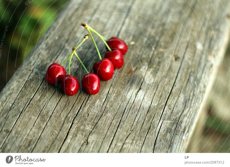 6 cherries Relaxation Calm Joy Life Lifestyle Interior design Emotions Background picture Healthy Style Food Feasts & Celebrations Design Living or residing