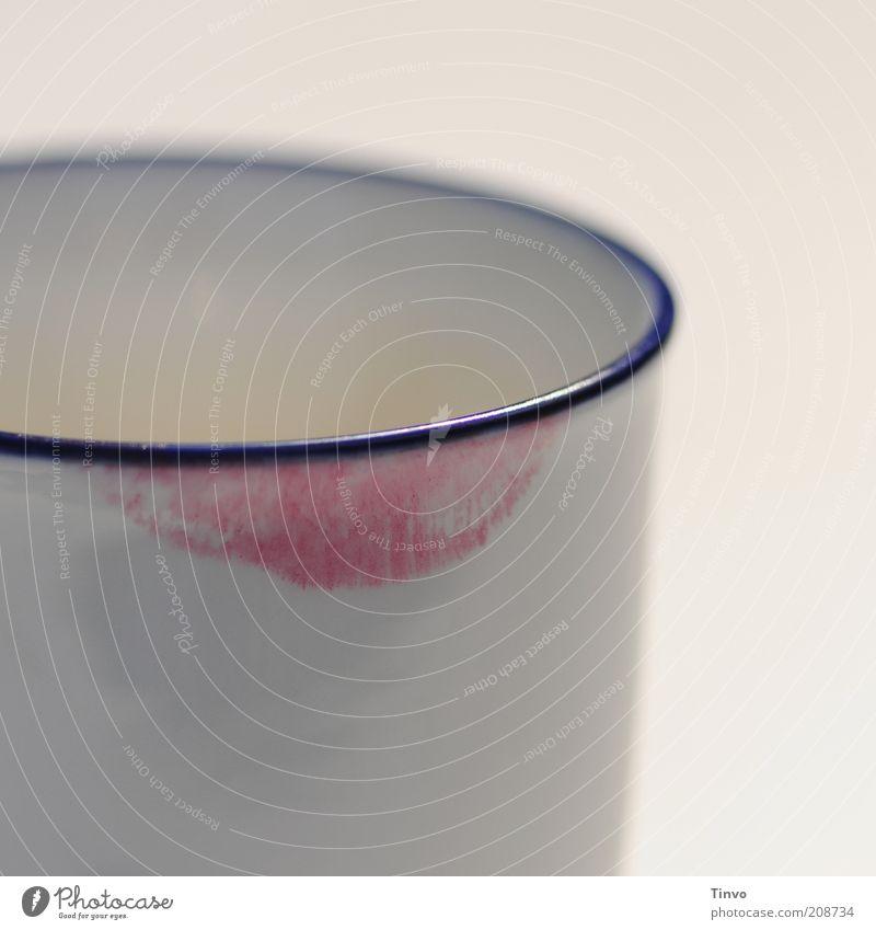 White Blue Red Fresh Coffee Corner Lips Crockery Breakfast Mug Afternoon Lipstick Human being Mouth Reflection Imprint