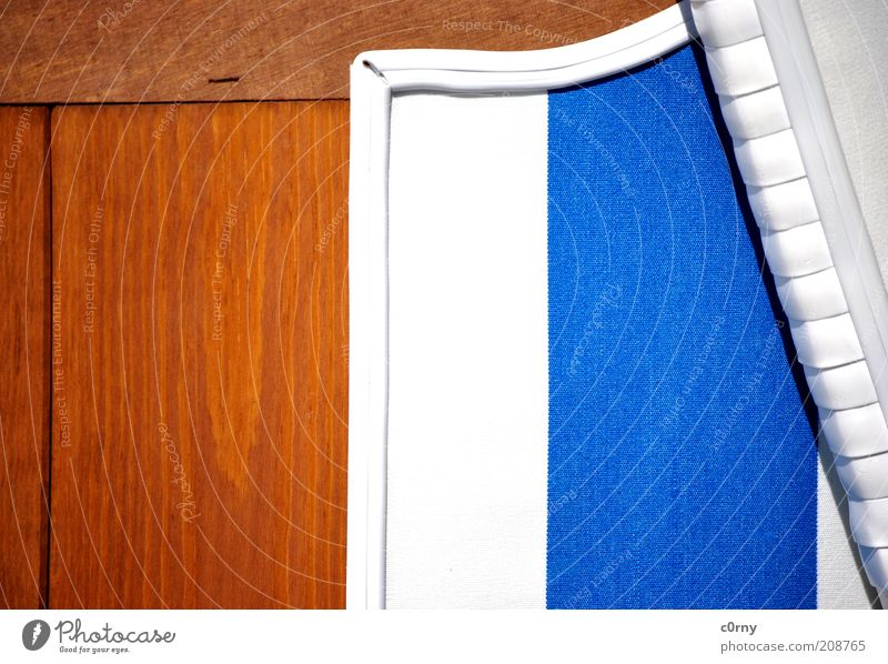 White Blue Relaxation Wood Line Brown Wait Sleep New Clean Stripe Serene Plastic To enjoy Beach chair Crouch