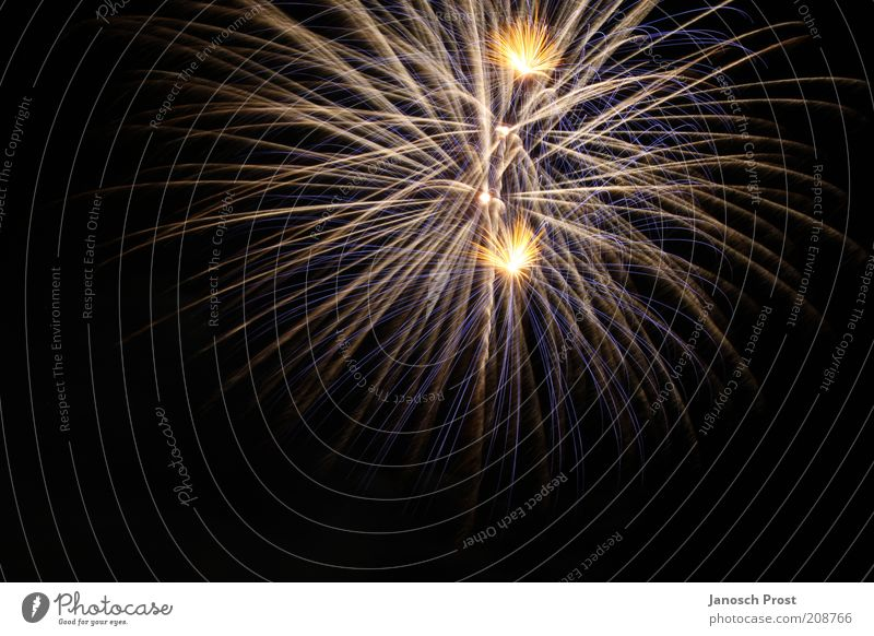 White Blue Black Yellow Above Art Gold Europe New Year's Eve Shows Infinity Illuminate Firecracker Cologne Event Silver