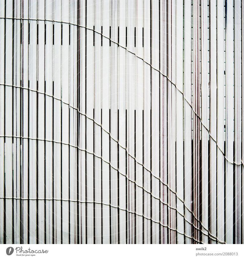 Line Simple Broken Plastic Fence Curve Downward Parallel Downward trend