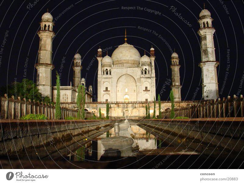 Bibi-ka-Makbara Aurangabad (India) Maharashtra Asia Manmade structures Taj Mahal Tomb Night Large Mysterious Mystic Los Angeles Poor Man's Taj mini Taj