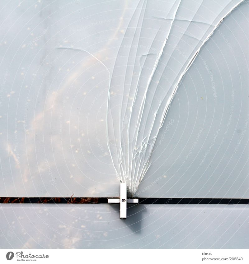 Black Wall (building) Metal Broken Metalware Things Connection Crucifix Window pane Technology Crack & Rip & Tear Tails Animal Glass