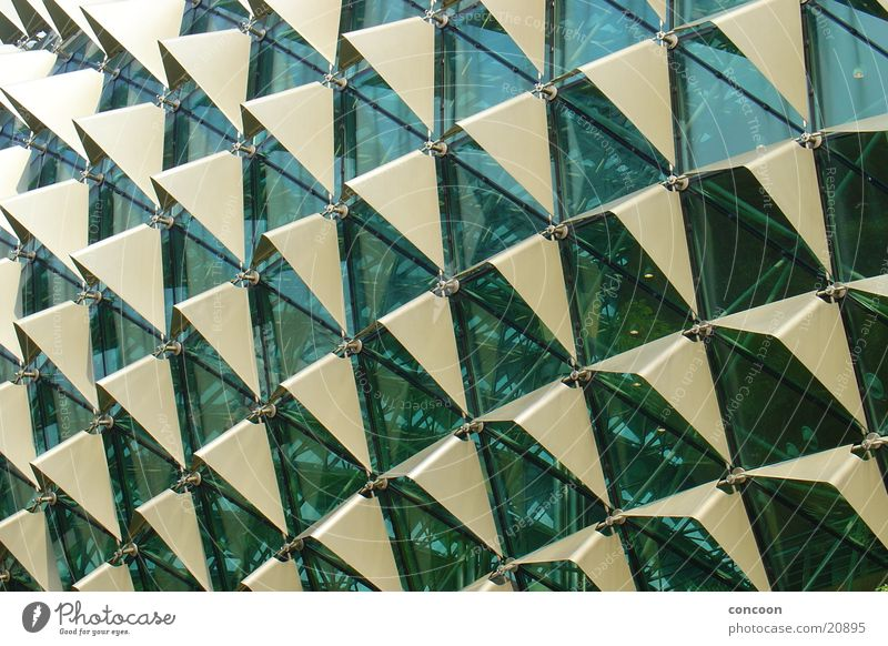 Pure structure 2 Triangle Reckless Thailand Singapore Architecture Glass Metal Modern Theatre