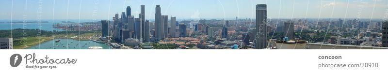 Ocean City Success High-rise Vantage point Harbour Skyline Singapore Malaya