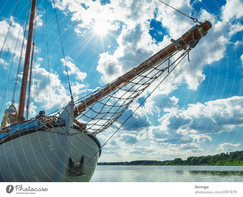 Ahoy there. Relaxation Vacation & Travel Tourism Trip Adventure Far-off places Cruise Summer Summer vacation Sun Beach Ocean Waves Driving Sailing Sailboat