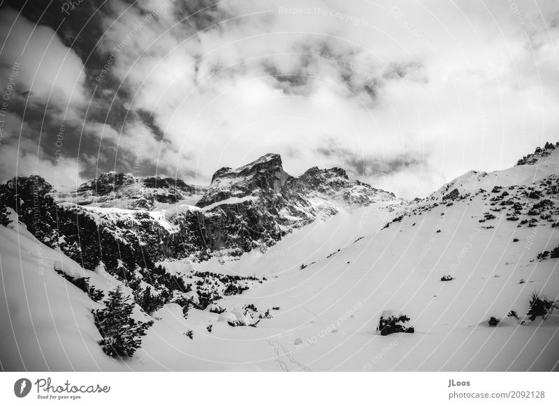Sky Nature White Landscape Clouds Winter Dark Mountain Black Environment Emotions Snow Moody Snowfall Horizon Ice
