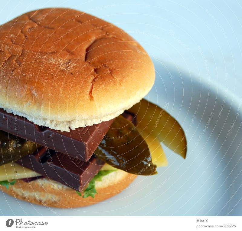 Finally: The McPregnant Food Vegetable Roll Chocolate Nutrition Lunch Dinner Fast food To enjoy Disgust Delicious Appetite Bizarre Cucumber Hamburger