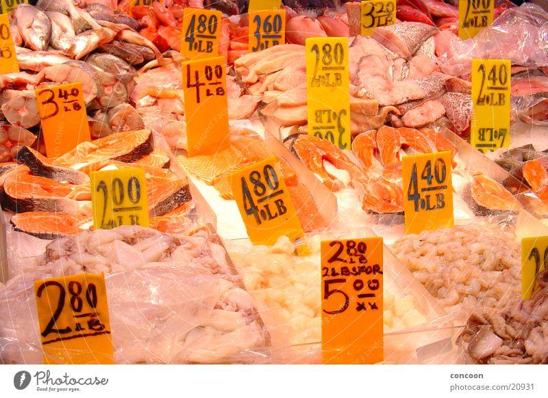Sushi! Fresh Fish market Farmer's market New York City Chinatown USA